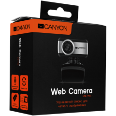 CANYON Enhanced 0.3 Megapixels resolutions webcam with USB 2.0 connector