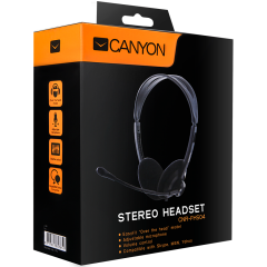 Canyon Headset ; color: black; Impedance: 32 Ohm;  Frequency Response: 20Hz-20kHz ; Sensitivity: 108