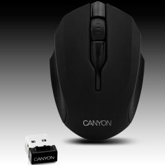 Мишка CANYON CNR-FMSOW01 (Безжичен 2.4GHz