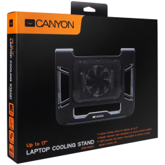 Canyon Laptop Cooling Stand for laptop up to 17'