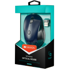 CANYON 2.4GHz wireless Optical  Mouse with 6 buttons