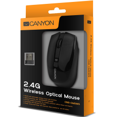 CANYON 2.4GHz wireless Optical  Mouse with 4 buttons