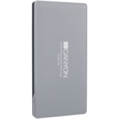 CANYON Power bank 10000mAh (Color: Dark Gray)