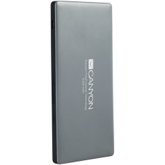 CANYON Power bank 5000mAh (Color: Dark Gray)