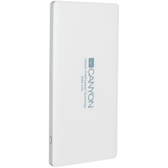 CANYON Power bank 5000mAh (Color: White)