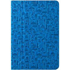 "Life is universal case for 8"" tablet (Color:Blue)"