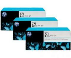 HP 771 3-pack 775-ml Matte Black Designjet Ink Cartridges