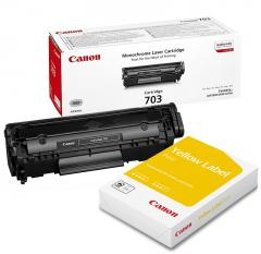 Canon CRG-703 + Canon Standart Label A4 (пакет)