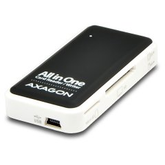 AXAGON CRE-X1 External Mini Card Reader 5-slot ALL-IN-ONE