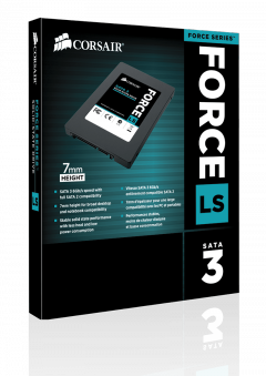 SSD Corsair Force LS CSSD-F240GBLSB 2.5 240GB SATA III MLC 7mm Up to 560MB/s Sequential Read