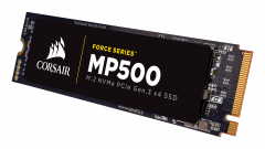 SSD Corsair Force MP500 series NVMe (PCIe Slot) M.2 2280 SSD 480GB; Up to 3