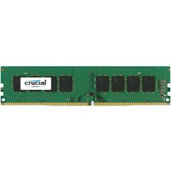 Crucial DRAM 16GB DDR4 2400 MT/s (PC4-19200) CL17 DR x8 Unbuffered DIMM 288pin