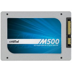 Crucial 240GB M500 SATA 6Gbps 2.5 7mm (with 9.5mm adapter) SSD