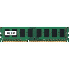 Crucial 2GB DDR3L 1600 MT/s (PC3L-12800) CL11 Unbuffered UDIMM 240pin 1.35V/1.5V Single Ranked