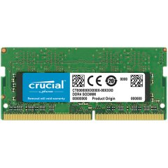 Crucial DRAM 8GB DDR4 2400 MT/s (PC4-19200) CL17 DR x8 Unbuffered SODIMM 260pin