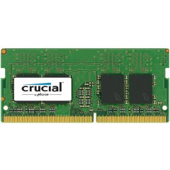 Crucial DRAM 8GB DDR4 2666 MT/s (PC4-21300) CL19 SR x8 Unbuffered SODIMM 260pin