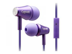 CYGNETT Headset Fusion II (In-Cord Microphone) Purple