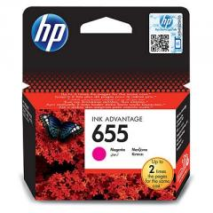 HP 655 Magenta Ink Cartridge