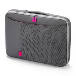 Dicota Bounce SlimCase 10-11.6 (grey/pink)