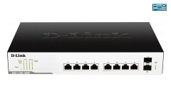 10-Port Gigabit EasySmart Switch 242W PoE Budget