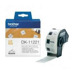 Brother DK-11221 Square Paper Labels
