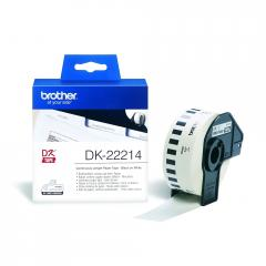 Brother DK-22214 White Continuous Length Paper Tape 12mm x 30.48m