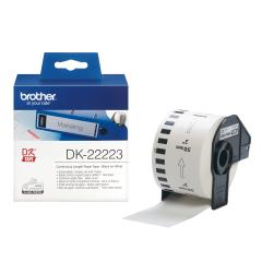 Brother DK-22223 White Continuous Length Paper Tape 50mm x 30.48m
