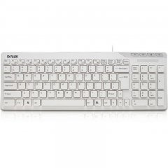 Input Devices - Keyboard DELUX DLK-OM01 USB 2.0 Multimedia