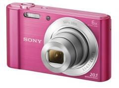 Sony Cyber Shot DSC-W810 pink + Transcend 8GB micro SDHC (No Box & Adapter - Class 10)