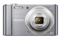 Sony Cyber Shot DSC-W810 silver + Transcend 8GB micro SDHC UHS-I Premium (with adapter