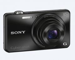 Sony Cyber Shot DSC-WX220 black + Sony LCS-BDG Soft case