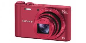 Sony Cyber Shot DSC-WX300 red