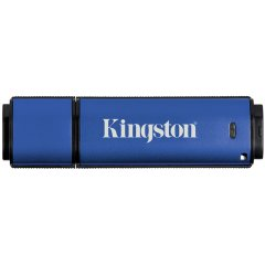 Kingston  8GB  USB 3.0 DTVP30/ 256bit AES Encrypted FIPS 197