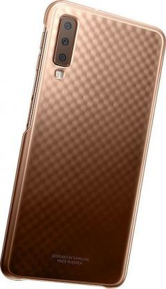 Samsung Galaxy A7 2018 Gradation cover  Gold