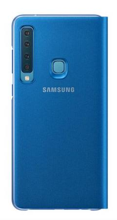 Samsung Galaxy A9 (2018) Wallet Cover Blue
