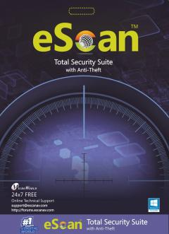 eScan Total Security Suite with Cloud Security  - 3 user/ 1 year