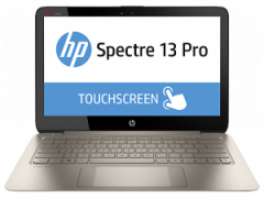 HP Spectre 13 Pro Intel Cor i5-4200U 4GB DDR3 RAM 13.3 FHD BV Touch 128GB SSD HDD Windows 8.1 pro 64
