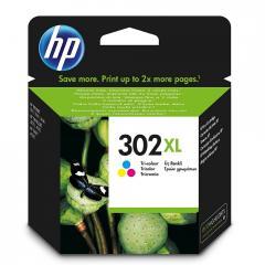HP 302XL High Yield Tri-color Original Ink Cartridge