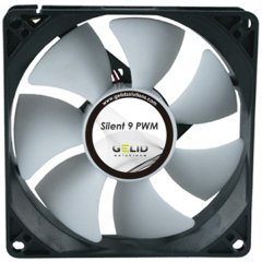 GELID Silent 9 PWM 92mm PWM fan-2000 RPM max 11-23.5 dBA