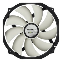 GELID Silent PRO 14 140mm (120mm compatible) PWM Case Fan without Clicking Noise PWM