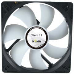 GELID Silent 14 140mm low noise fan-1000 RPM 20.2 dBA
