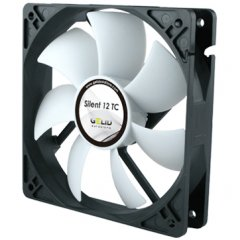 GELID Silent 12 TC 120mm TC fan-1500 RPM max 12-25.5 dBA