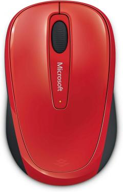 Microsoft Wireless Mobile Mouse 3500 USB ER English Flame Red Gloss Retail