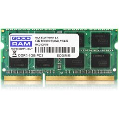 SODIMM DDR3 4GB PC3-12800 GOODRAM 1