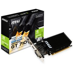 MSI Video Card NVidia GT 710 1GD3H LP (DDR3 1GB/64bit