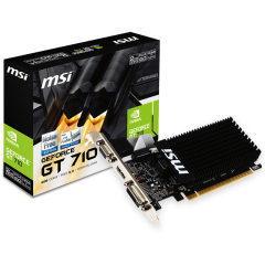 MSI Video Card Nvidia GT 710 2GD3H LP (GT710