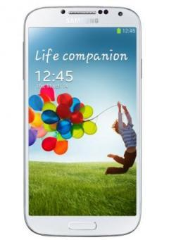 Samsung Smartphone GT-I9505 GALAXY S IV White + Targus Slim Laser Case for Samsung Galaxy S4 Clear