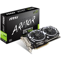 MSI Video Card GeForce GTX 1060 GDDR5 3GB/192bit