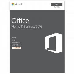 Office Mac Home Student 2016 English EuroZone Medialess P2