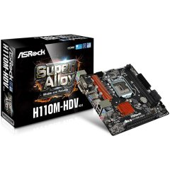 ASROCK Main Board Desktop H110 (S1151